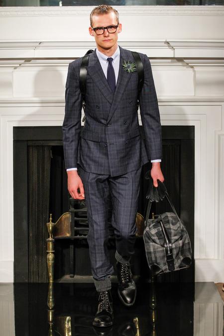 Hardy Amies Fall Winter 2013 Menswear