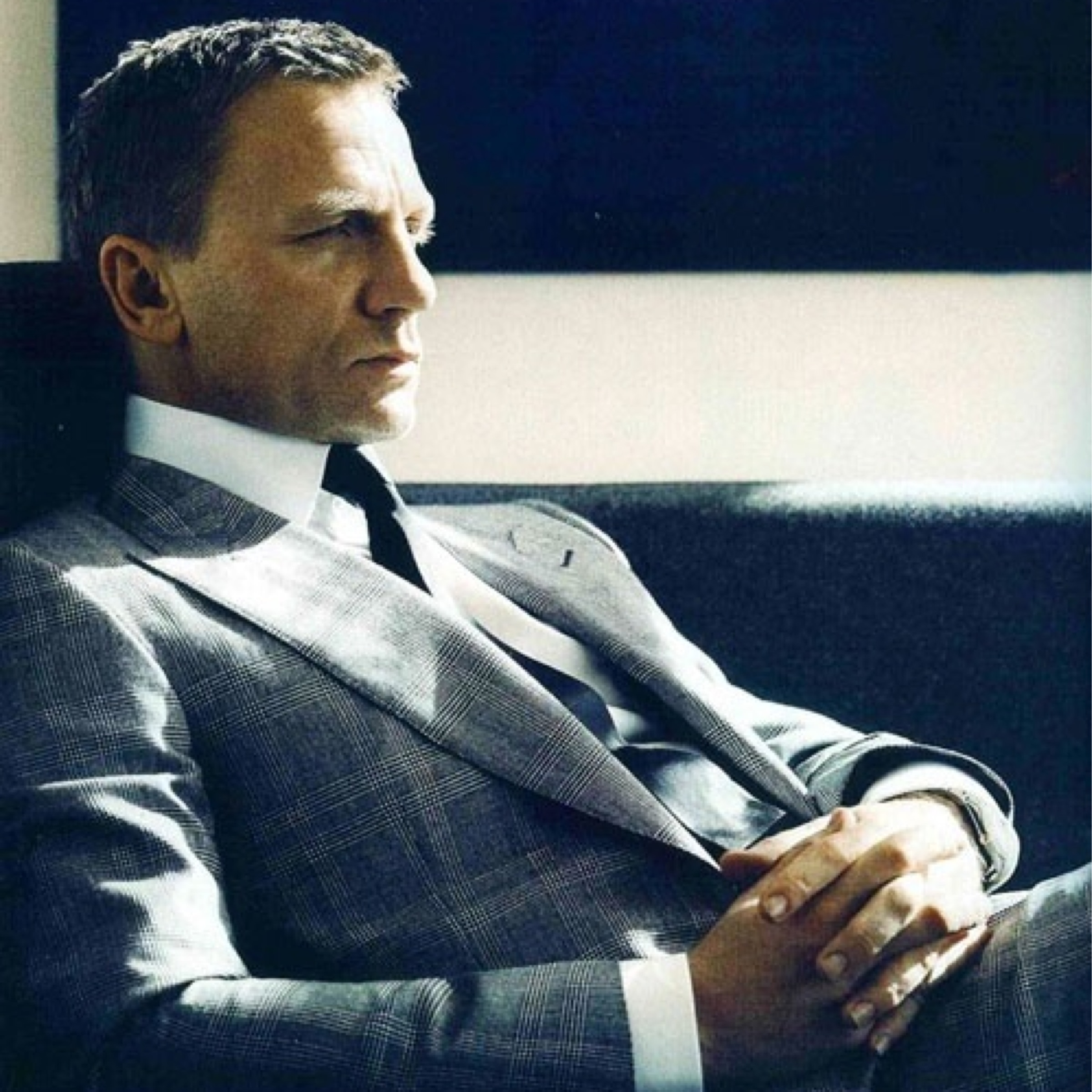 #4 (125 likes) Daniel Craig for Vogue