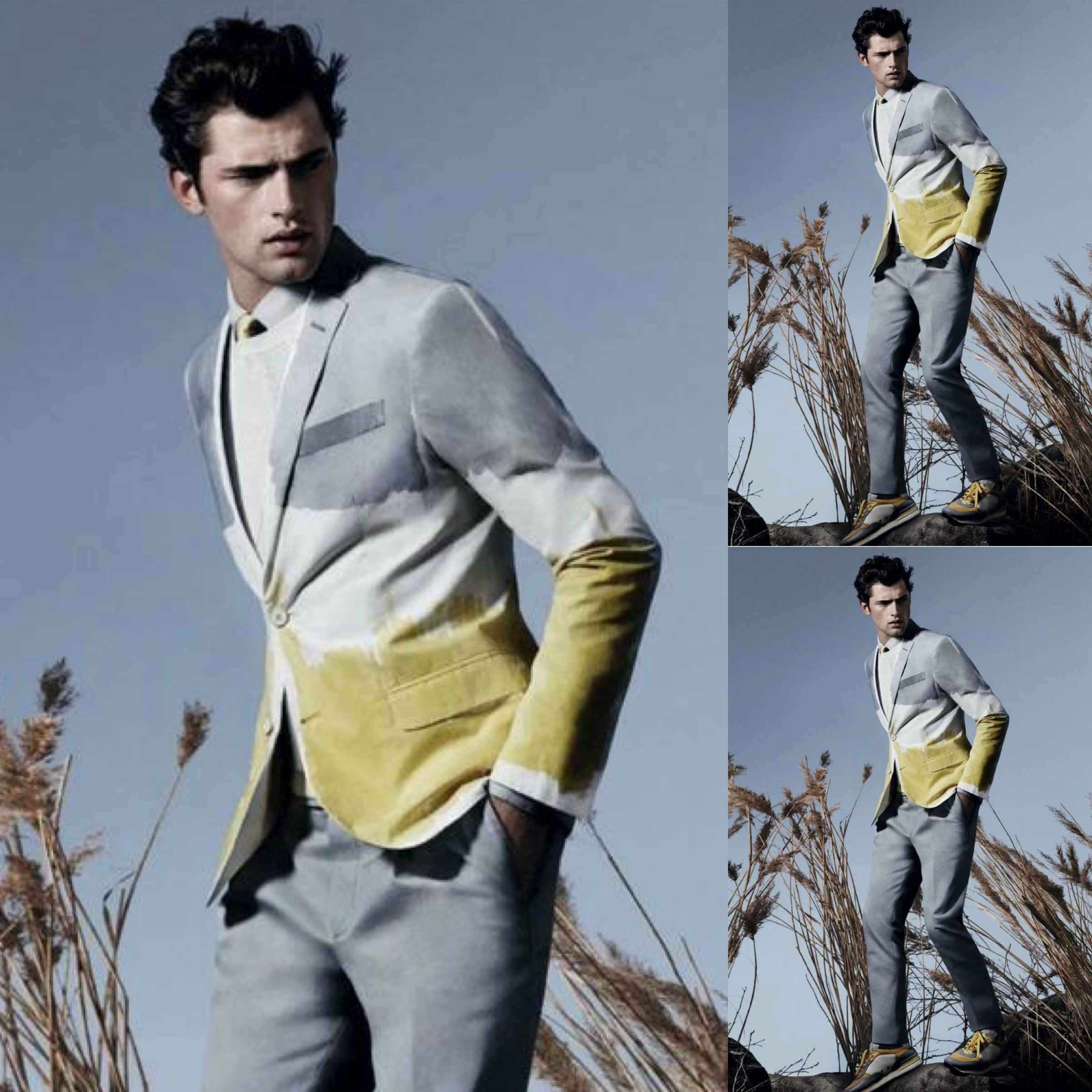#5 - Sean O'Pry for Salvatore Ferragamo Spring Summer 2013 Lookbook