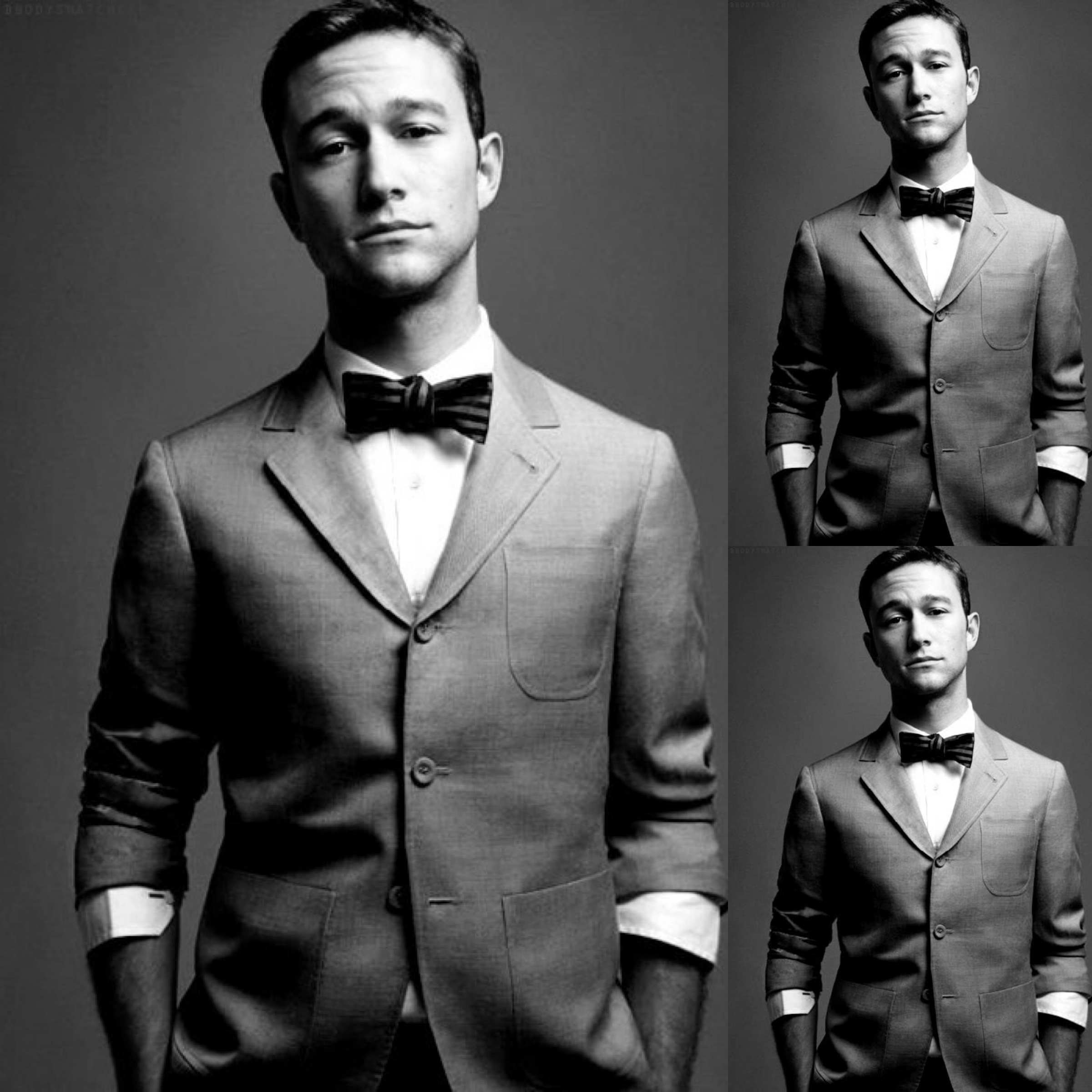 #2 (249 likes) Joseph Gordon-Levitt (love the bowtie)