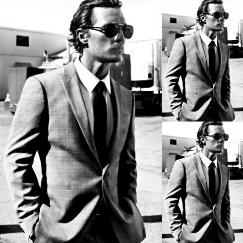 #5 (154 likes on The Man Has Style) :: Matthew McConaughey