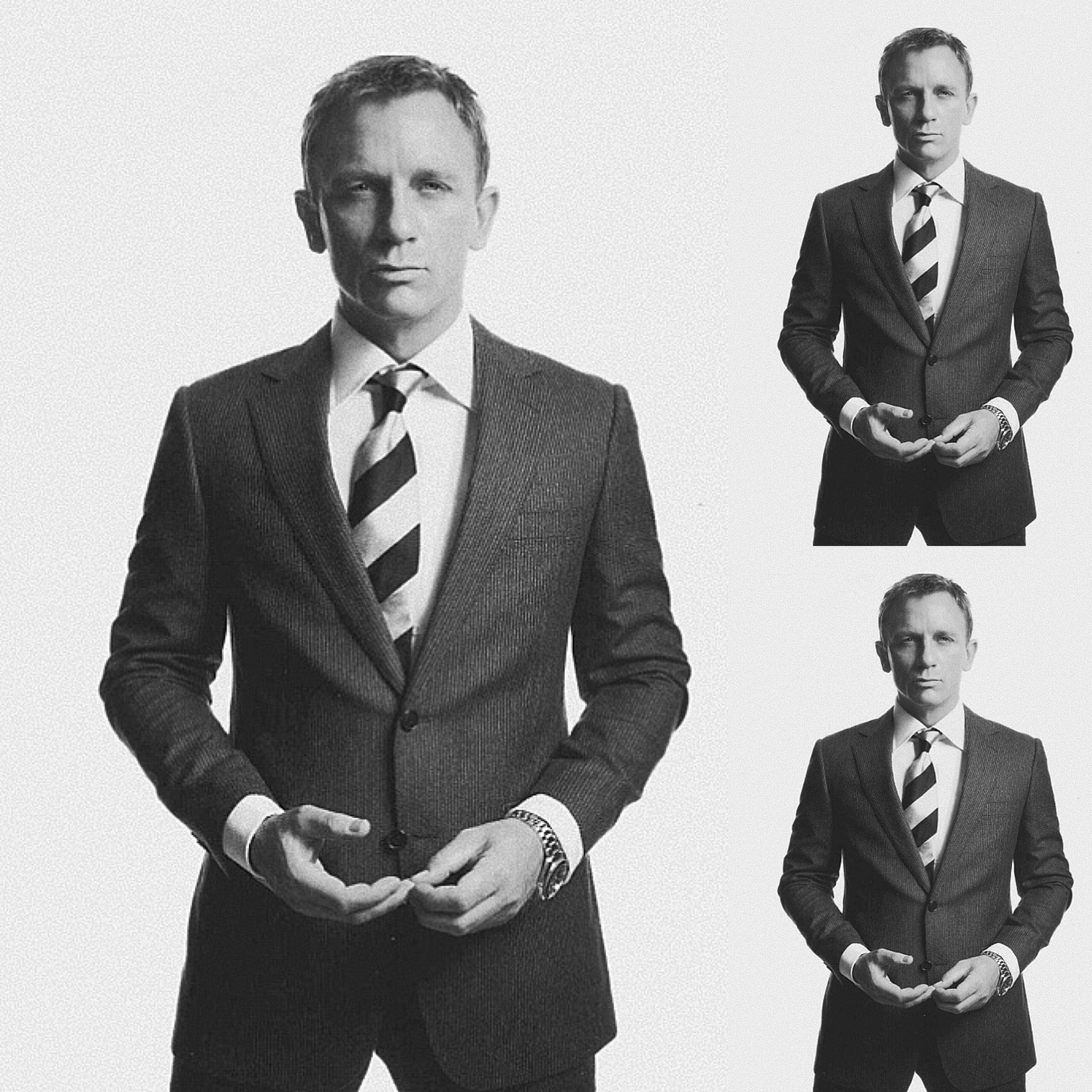 #5 :: Daniel Craig for Vogue Germany