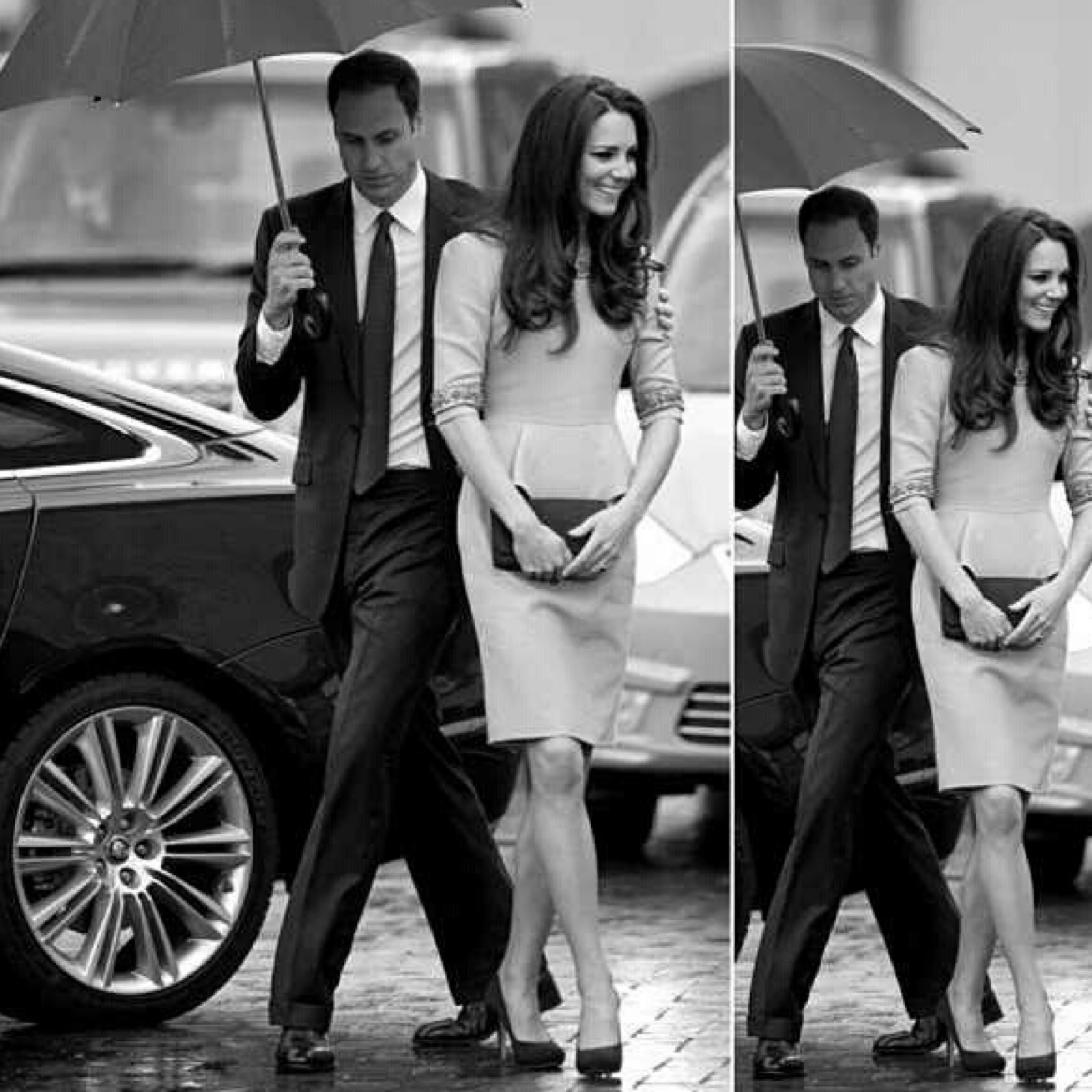 The Man Has Style - Rainy Days - William & Catherine