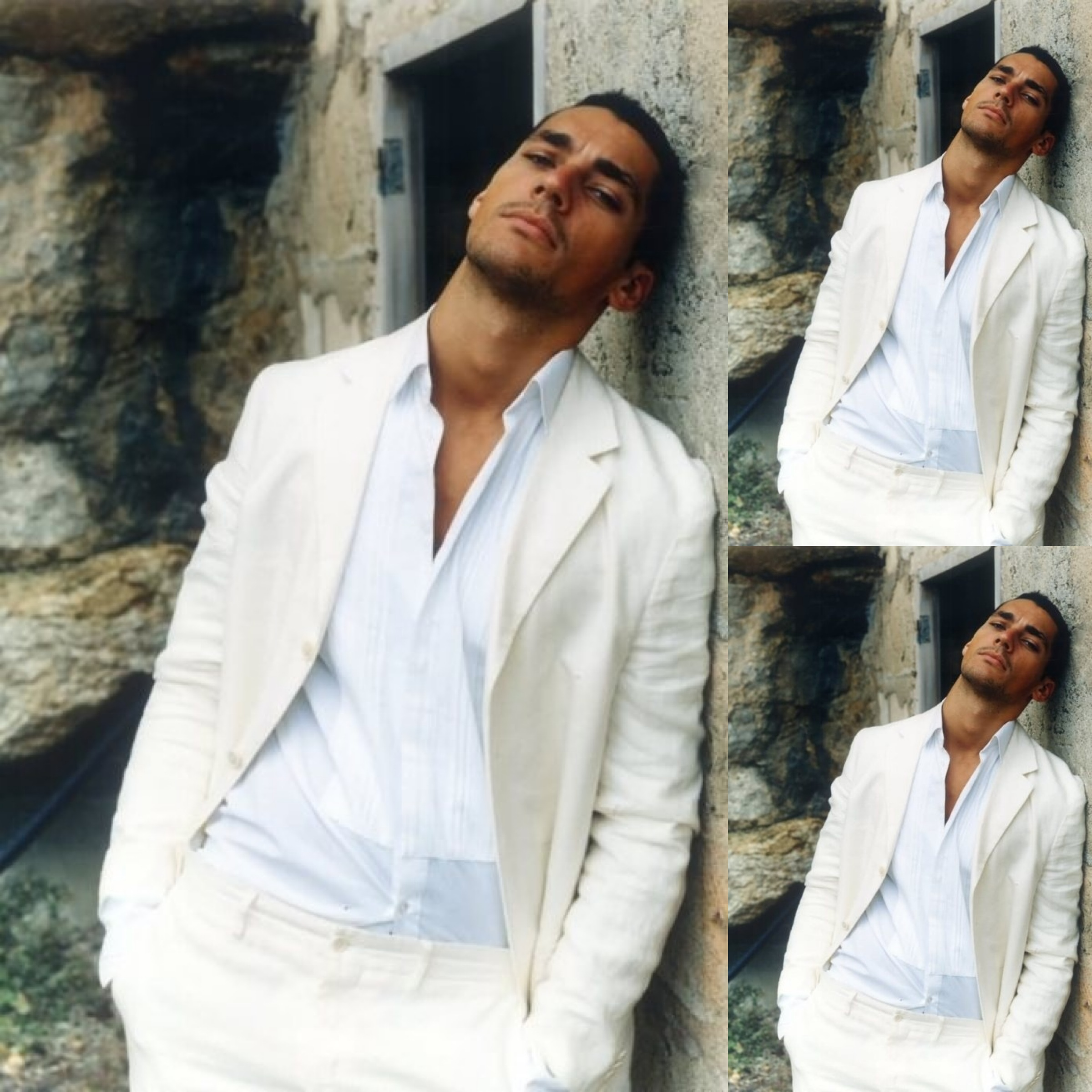 #1 (195 likes) :: David Gandy :: Summer Style