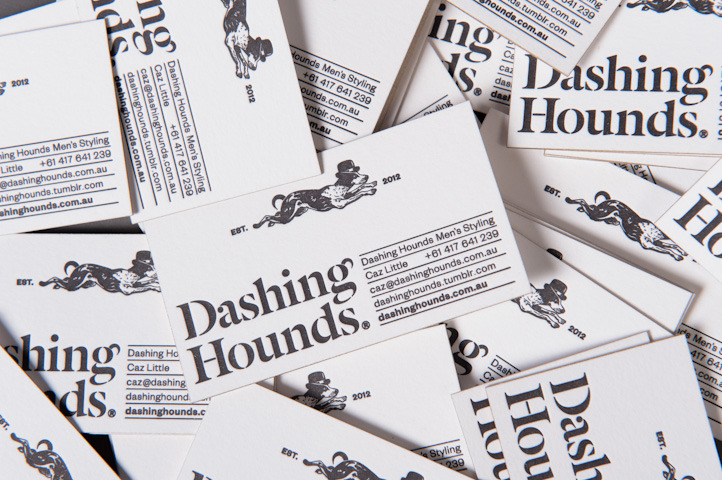 Dashing Hounds : Business Cards