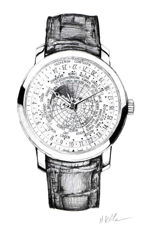 Nick Batchelor :: Vacheron Constantin World Time Watch