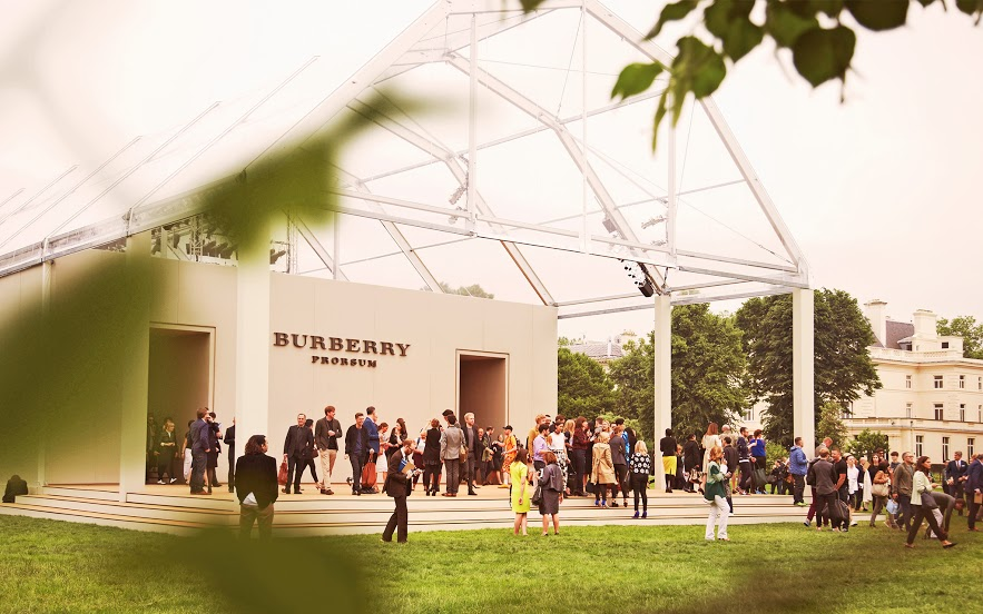 Burberry Prorsum Spring Summer 2014 :: Kensington Gardens