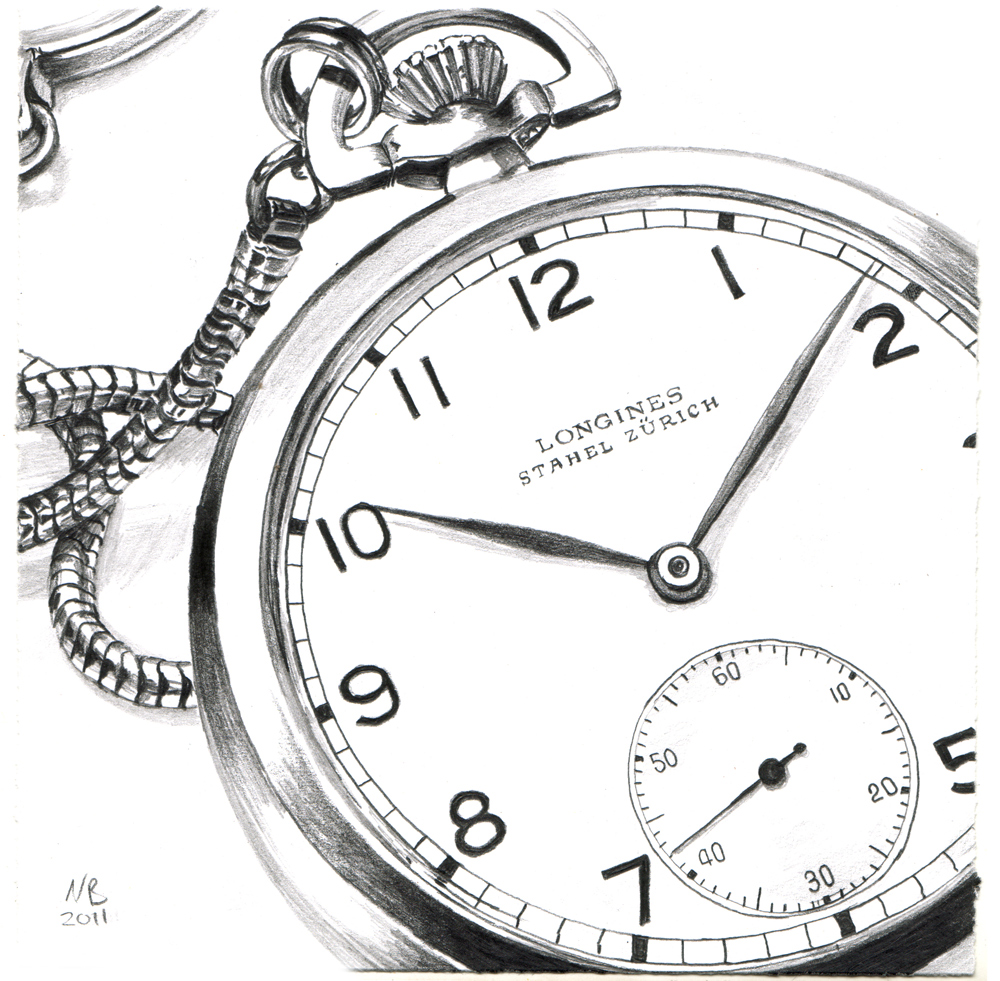 Nick Batchelor :: Albert Einsteins Longines Pocket Watch