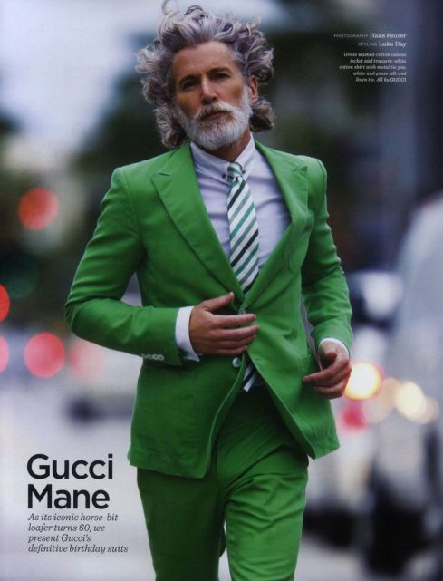 Aiden Shaw in Gucci - The Man Has Style Top 5 Male Model
