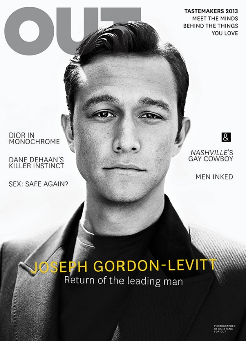 Joseph Gordon-Levitt features on cover of OUT magazine