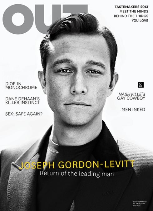 Joseph Gordon-Levitt features on cover of OUT magazine