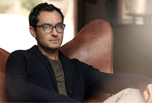 Jude Law by Peter Lindbergh for Vogue Eyewear for Men - Style VO 2815