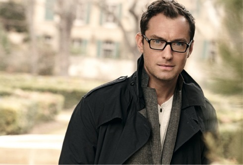 Jude Law by Peter Lindbergh for Vogue Eyewear for Men - Style VO 2834