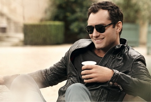 Jude Law by Peter Lindbergh for Vogue Eyewear for Men - Style VO 3877S