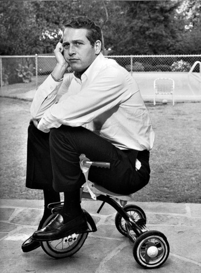 the_man_has_style_paul_newman_tricycle