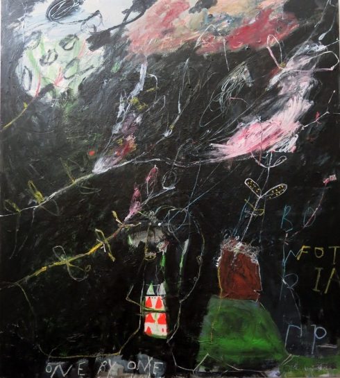 George Raftopoulos  |  One by One  |  132cm x 157cm  |  Oil on Japanese Linen
