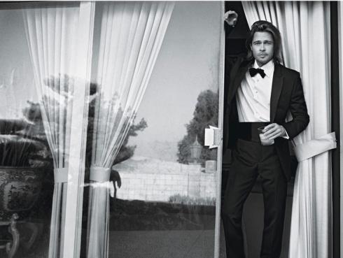 Brad Pitt by Mario Sorrenti for W Magazine, February 2012