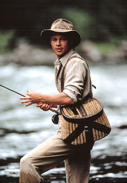Brad Pitt in A River Runs Through It