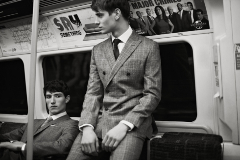 Hardy Amies | Autumn Winter 2013 Campaign