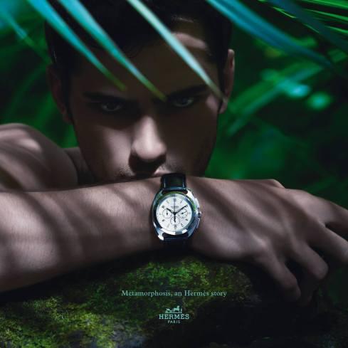 Hermès 'Dressage' watch from Metamorphosis