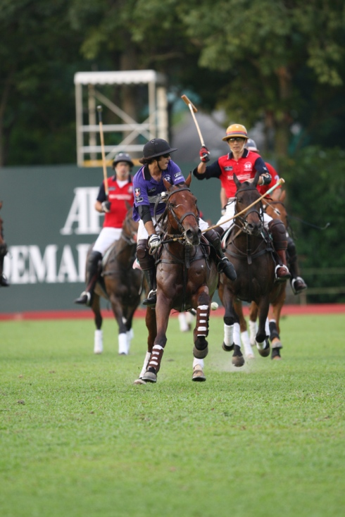 Ameer Jumabhoy | Photo credit: Singapore Polo Club