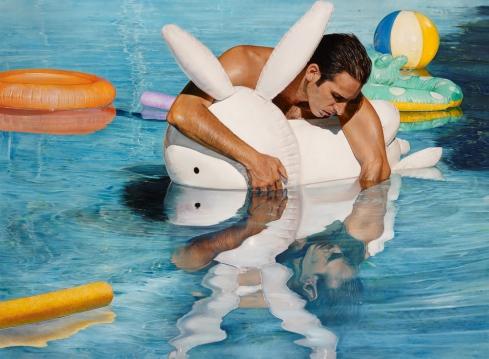 © Michael Zavros -  Bad Dad - Oil on canvas - 110cm x 150cm - Finalist in The Archibald Prize 2013