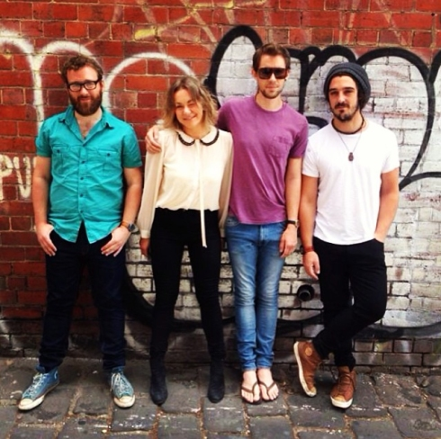 Caz from Dashing Hounds with Grammy nominated, Melbourne band, Hiatus Kaiyote