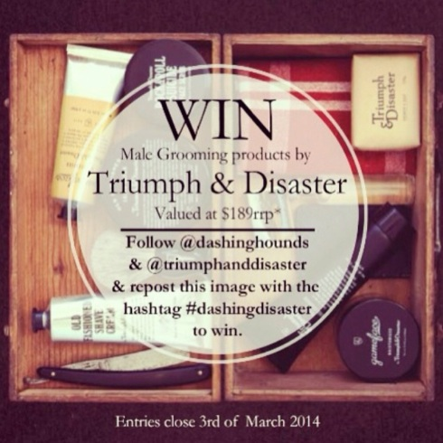 The Dashing Hounds + Triumph & Disaster Instagram Competition