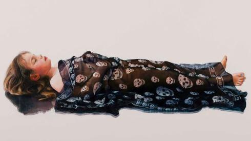 © Michael Zavros - Phoebe is Dead/McQueen - Douglas Moran National Portrait Prize Winner