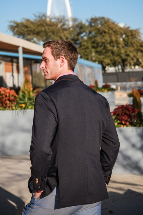 Mizzen+Main Blazer back view